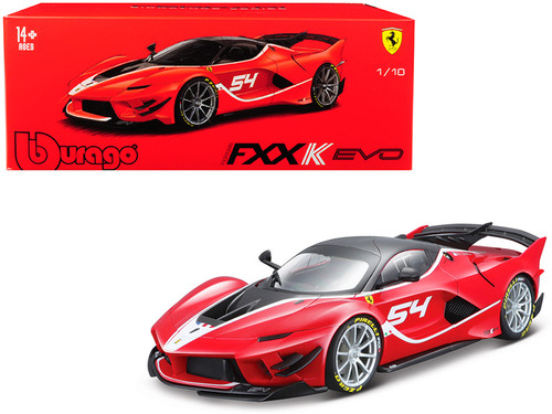 Ferrari FXX K EVO #54 Signature Series 1/18 Scale Diecast Car Model By Bburago 16908