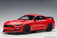 Ford Shelby GT-350R Race Red 1/18 Scale Diecast Car Model By AUTOart 72935