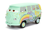 Fillmore Volkswagen Bus Disney Pixar Cars 1/24 Scale Diecast Car Model By Jada Toys 98493
