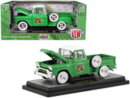 1958 GMC Stepside Truck Hays Green 1/24 Scale Diecast Model By M2 Machines 40300-70