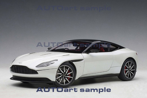 Aston Martin DB11 Morning Frost White 1/18 Scale Diecast Car Model By AUTOart 70266