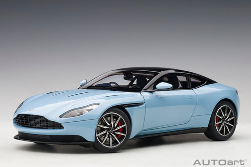 Aston Martin DB11 Q Frosted Gloss Blue 1/18 Scale Diecast Car Model By AUTOart 70268