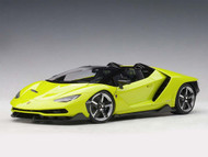 Lamborghini Centenario Roadster Solid Light Green 1/18 Scale Diecast Car Model AUTOart 79118
