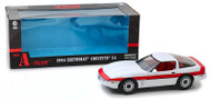 1985 Chevrolet Corvette C4 A-Team 1/18 Scale Diecast Car Model By Greenlight 13532