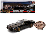 1977 PONTIAC FIREBIRD BELT BUCKLE SMOKEY & THE BANDIT 1/24 SCALE DIECAST CAR MODEL BY JADA TOYS 30998