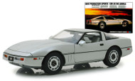 1984 CHEVROLET CORVETTE C4 CONVERTIBLE VINTAGE AD CARS 1/18 SCALE DIECAST CAR MODEL BY GREENLIGHT 13534