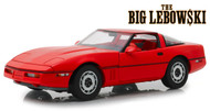 1985 CHEVROLET CORVETTE C4 CONVERTIBLE BIG LEBOWSKI 1/18 SCALE DIECAST CAR MODEL BY GREENLIGHT 13533