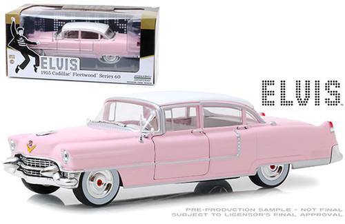1955 CADILLAC FLEETWOOD SERIES 60 ELVIS PRESLEY 1/24 SCALE DIECAST CAR MODEL BY GREENLIGHT 84092