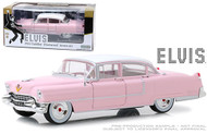 1955 CADILLAC FLEETWOOD SERIES 60 ELVIS PRESLEY 1/24 SCALE DIECAST CAR MODEL BY GREENLIGHT 84092