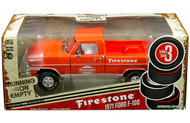 1971 FORD F-100 TRUCK FIRESTONE  RUNNING ON EMPTY 1/24 SCALE DIECAST MODEL BY GREENLIGHT 85043