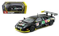 Lamborghini Murcielago GT #7 Racing 1/24 Scale Diecast Car Model By Bburago 28001