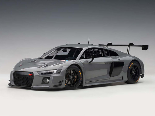 AUDI R8 LMS NARDO GREY 1/18 SCALE DIECAST CAR MODEL BY AUTOART 81801