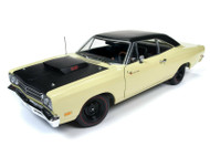 1969 1/2 PLYMOUTH ROAD RUNNER 1/18 SCALE DIECAST CAR MODEL BY AUTO WORLD AMM1179