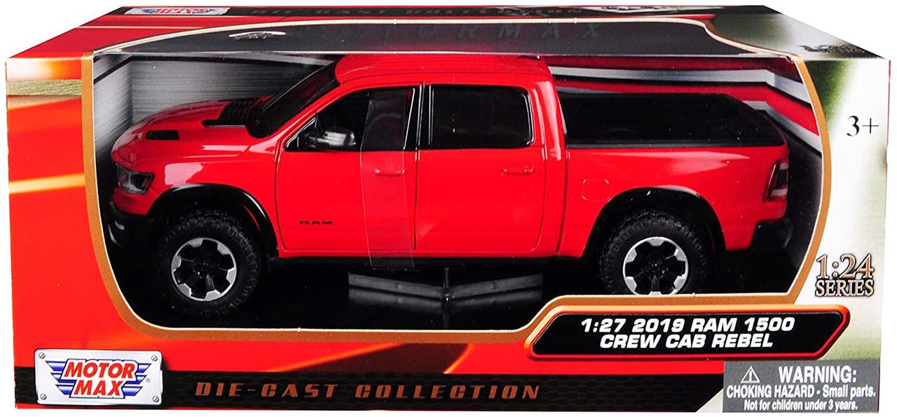 2019 DODGE RAM 1500 CREW CAB REBEL PICKUP 79358R 1//24 scale DIECAST CAR