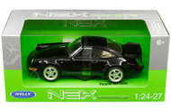 Porsche 964 Turbo Black 1/24 Scale Diecast Car Model By Welly 24023