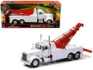 Kenworth W900 Wrecker Tow Truck White 1/32 Scale By Newray 10873