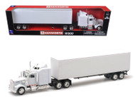 Kenworth W900 Plain White Unmarked 1/43 Scale Model By Newray 15843