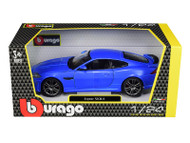 Jaguar XKR-S Blue 1/24 Scale Diecast Car Model by Bburago 21063