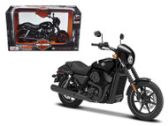 2015 Harley Davidson Street 750 Motorcycle Model 1/12 Scale By Maisto 32333