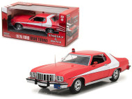 1976 Ford Gran Torino Red Starsky and Hutch 1975-1979 TV Series 1/24 Scale Diecast Model Car Model By Greenlight 84042