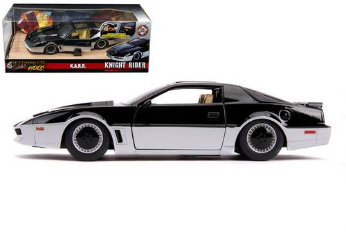KNIGHT RIDER KARR TRY ME BOX HOLLYWOOD 1/24 SCALE DIECAST CAR MODEL BY JADA 31115