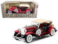 1934 Duesenberg II SJ Red & Black 1/18 Scale Diecast Model Car Model By Greenlight 12995