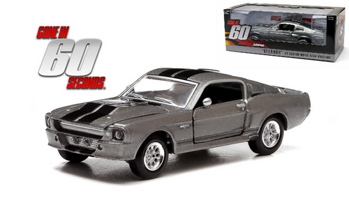 1967 Ford Mustang Custom Eleanor Gone In 60 Seconds Movie 1/18 Scale Diecast Car Model By Greenlight 12909