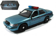 2008 CHARLIE'S FORD CROWN VICTORIA WA POLICE CAR TWILIGHT 1/18 SCALE DIECAST CAR MODEL BY GREENLIGHT 12864