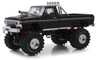 1979 FORD F-250 MONSTER TRUCK BLACK 1/18 SCALE DIECAST MODEL BY GREENLIGHT 13538