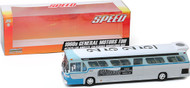 1960S General Motors TDH #2525 Los Angeles California Downtown Bus 1/43 Scale Plastic Model By Greenlight 86544