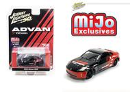 2004 NISSAN 350Z ADVAN YOKOHAMA 3600 MADE MIJO EXCLUSIVE 1/64 SCALE DIECAST CAR MODEL BY JOHNNY LIGHTNING JLCP7241
