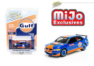 2004 MITSUBISHI LANCER EVOLUTION EVO JDM 3600 MADE MIJO EXCLUSIVE 1/64 SCALE DIECAST CAR MODEL BY JOHNNY LIGHTNING JLCP7249
