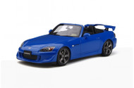 HONDA S2000 TYPE S APEX BLUE PEARL 1/18 SCALE CAR BY OTTOMOBILE OT312