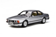 BMW E24 635 CSI 1982 SILVER 1/18 SCALE CAR BY OTTOMOBILE OT313
