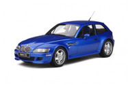 BMW Z3 M COUPE 3.2 BLUE 1/18 SCALE CAR BY OTTOMOBILE OT318