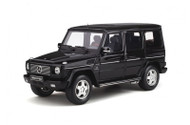 MERCEDES BENZ G CLASS 55 AMG 2003 BLACK METALLIC 1/18 SCALE CAR BY OTTOMOBILE OT320