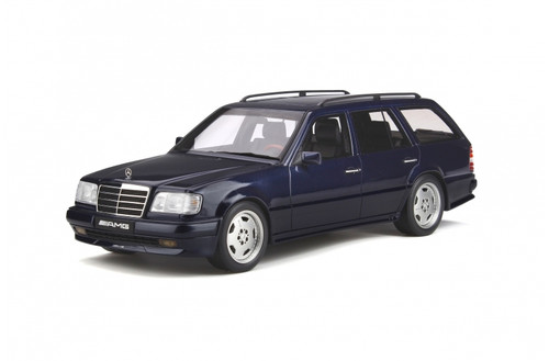 MERCEDES BENZ S124 AMG E36 PH3 1995 AZURITE BLUE 1/18 SCALE CAR BY OTTOMOBILE OT753