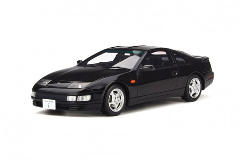 NISSAN 300ZX FAIRLADY Z Z32 1992 BLACK 1/18 SCALE CAR BY OTTOMOBILE OT262