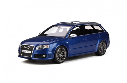 AUDI RS4 B7 WITH A SUNROOF SEPANG BLUE LIMITED EDITION 1/18 SCALE CAR BY OTTOMOBILE OT785