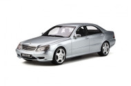 MERCEDES BENZ S55 AMG ( W220 ) 2000 BRILLIANT SILVER 1/18 SCALE CAR BY OTTOMOBILE OT292