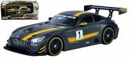 Mercedes Benz AMG GT3 Grey GT Racing 1/24 Diecast Car Model By Motor Max 73784