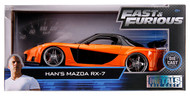 Mazda RX-7 Han's Fast & Furious 1/24 Scale Diecast Car Model By Jada Toys 30732