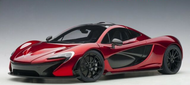 MCLAREN P1 VOLCANO RED SUPERCAR 1/18 SCALE CAR MODEL BY AUTOART 76062