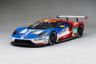FORD GT LE MANS 2016 B. JOHNSON S. MUCKE O. PLA #66 1/18 SCALE CAR MODEL BY AUTOART 81610