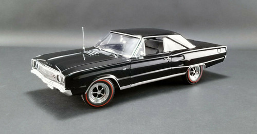 1967 DODGE CORONET R/T BLACK LIMITED EDITION 1/18 DIECAST CAR MODEL BY ACME A 1806603