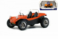 MEYERS MANX BUGGY ORANGE CONVERTIBLE 1/18 SCALE DIECAST CAR MODEL BY SOLIDO S1802702