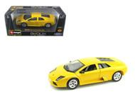 Lamborghini Murcielago Yellow 1/24 Scale Diecast Car Model By Bburago 22054