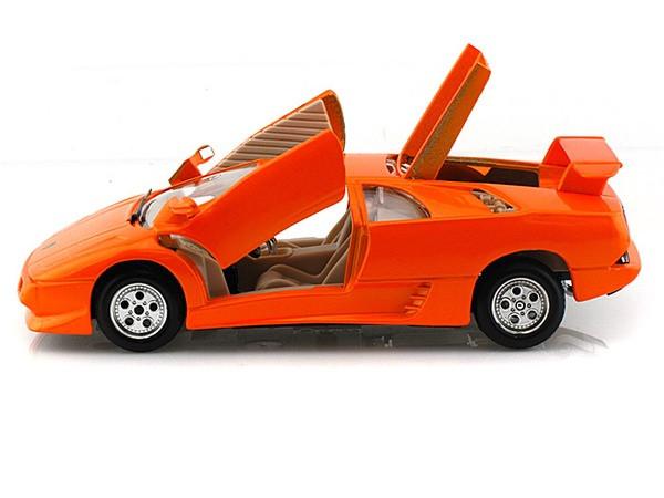 Lamborghini Diablo Orange 1 24 Scale Diecast Car Model By