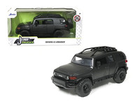 TOYOTA FJ CRUISER CHARCOAL GREY JUST TRUCKS 1/24 SCALE DIECAST CAR MODEL BY JADA TOYS 99318