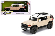 TOYOTA FJ CRUISER BEIGE CREAM JUST TRUCKS 1/24 SCALE DIECAST CAR MODEL BY JADA TOYS 99319